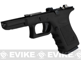 Pre-Order Estimated Arrival: 06/2013 --- Complete Frame Assembly w/ Magazine for WE-Tech WE19 Airsoft GBB - Gen. 3 / Black