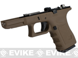 Pre-Order Estimated Arrival: 06/2013 --- Complete Frame Assembly w/ Magazine for WE-Tech WE19 Airsoft GBB - Gen. 3 / Tan