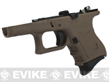 Complete Frame Assembly w/ Magazine for WE-Tech WE27 Airsoft GBB - Tan