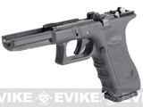 Pre-Order Estimated Arrival: 06/2013 --- Complete Lower Frame Set for WE17 Series Airsoft Gas Blowback w/ Mag