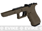 Pre-Order Estimated Arrival: 06/2013 --- Complete Frame Assembly w/ Magazine for WE-Tech WE18C Airsoft GBB - Gen. 4 / Tan