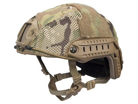 FirstSpear Hybrid Helmet Cover for Ops Core FAST Helmets (Color: MultiCam / Medium/Large)