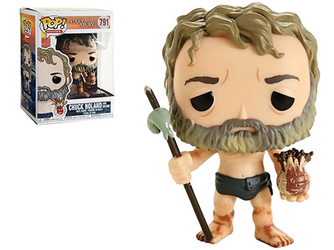 Funko POP! Movies Cast Away Chuck w/ Wilson Vinyl Figure