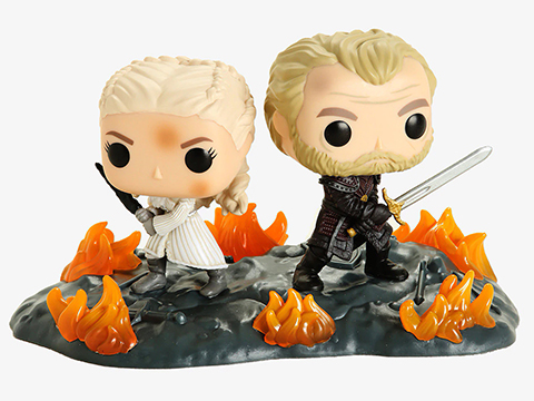Funko POP! - Game of Thrones - Daenerys & Jorah at The Battle of Winterfell Vinyl Figure