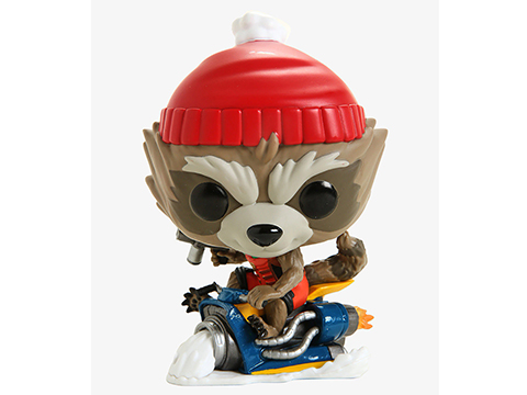 Funko POP! Marvel Holiday Rocket Bobble Head