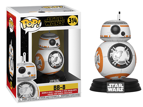 Funko POP! STAR WARS� - The Rise of Skywalker Vinyl Figure Series (Model: BB-8�)
