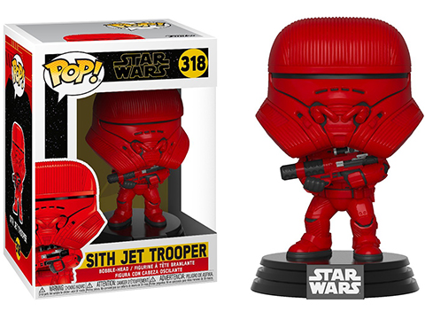 Funko POP! STAR WARS� - The Rise of Skywalker Vinyl Figure Series (Model: Sith Jet Trooper)