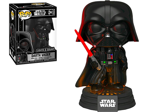POP! STAR WARS™ - Darth Vader™ Electronic Bobble Head Vinyl Figurine
