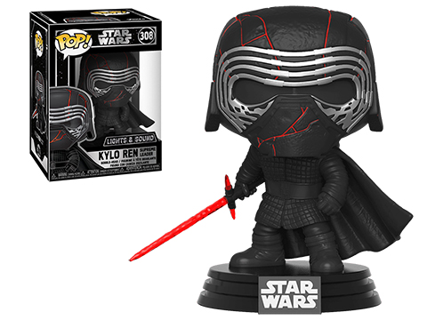 Funko POP! STAR WARS™ - The Rise of Skywalker - Supreme Leader Kylo Ren Electronic Vinyl Figure