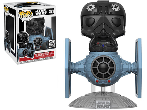 Funko POP! STAR WARS™ TIE Fighter Vehicle w/ Pilot Deluxe Vinyl Figure
