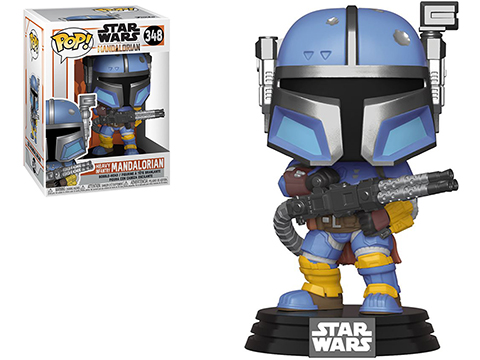 Funko POP! Star Wars: The Mandalorian (Figure: Heavy Infantry Mandalorian)