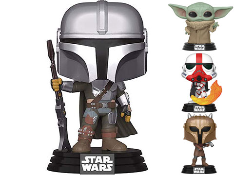 Funko POP! Star Wars: The Mandalorian (Figure: The Child)