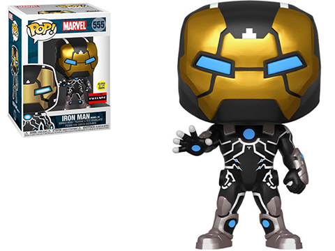 Funko POP! Marvel's The Invincible Iron Man Exclusive Glow-in-the-Dark Vinyl Figure