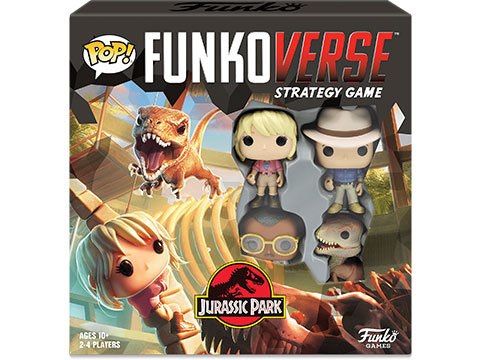 Funko POP! Funkoverse: Jurassic Park 100 Strategy Game