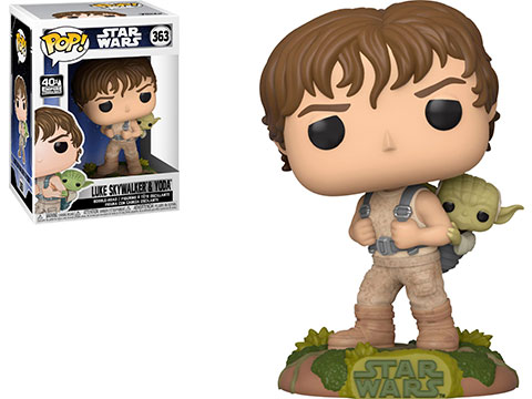 Funko POP! Star Wars: Training Luke with Yoda Vinyl Figure
