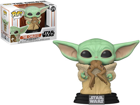 Funko POP! Star Wars: The Mandalorian (Figure: The Child w/ Frog)