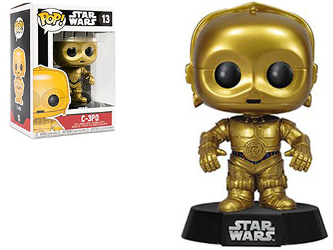 Funko POP! Star Wars Vinyl Figure (Figure: C-3PO)
