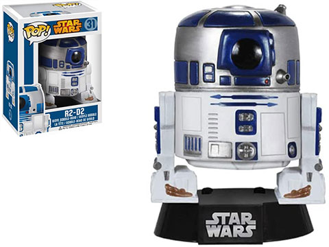 Funko POP! Star Wars Vinyl Figure (Figure: R2-D2)