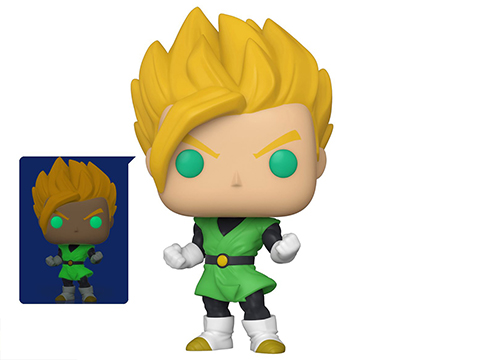 Funko POP! Animation: Dragon Ball Z Vinyl Figure (Model: Glow-in-the-Dark Super Saiyan Gohan)