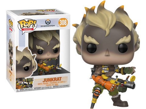 Funko POP! Overwatch Vinyl Figure (Model: Junkrat)