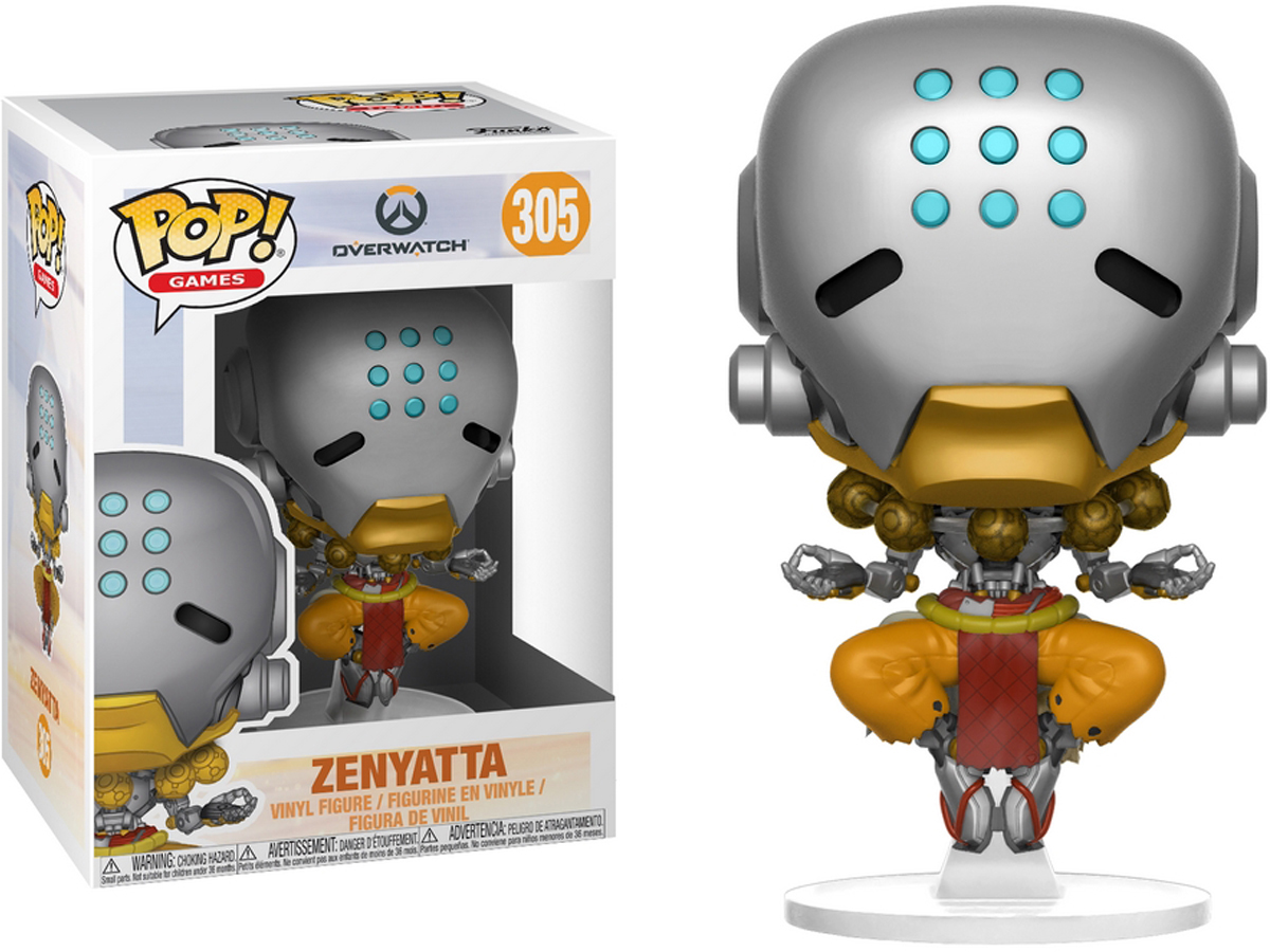 Funko POP! Overwatch Vinyl Figure (Model: Zenyatta)