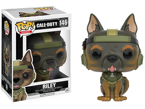 Funko POP! Call of Duty Riley Vinyl Figure