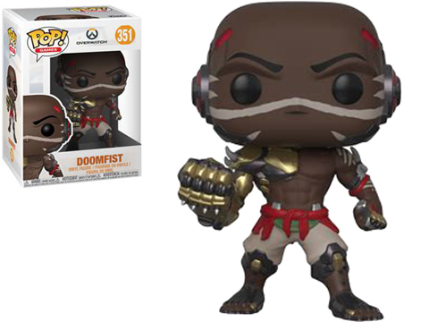 Funko POP! Overwatch Vinyl Figure (Model: Doomfist)