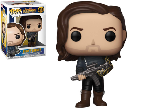 Funko POP! Infinity War - Bucky w/ Weapon