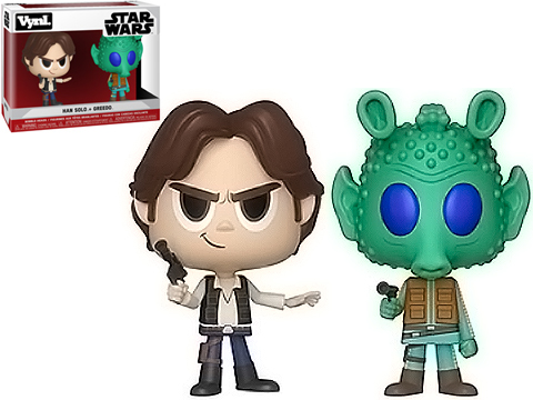 Funko VYNL Star Wars Han Solo and Greedo Vinyl Figures