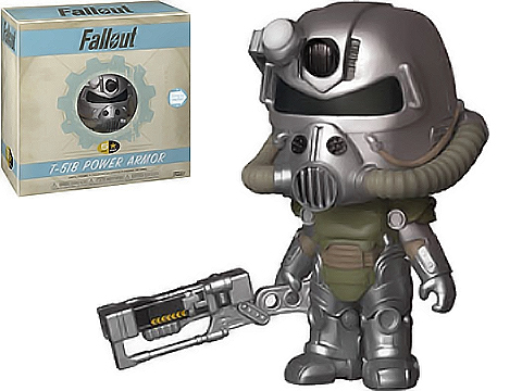 5 Star Fallout T-51 Power Armor Vinyl Figure by Funko