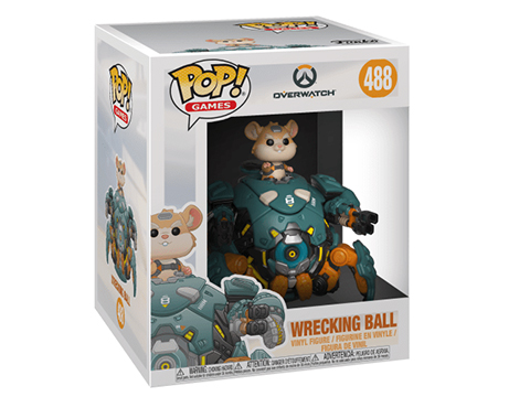 Funko POP! Overwatch Wrecking Ball 6 Vinyl Figure