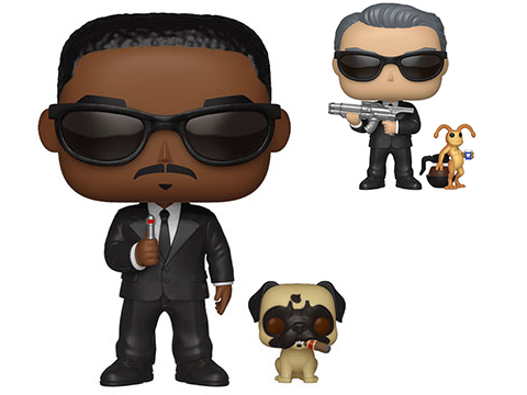 Funko POP! POP & Buddy Men In Black