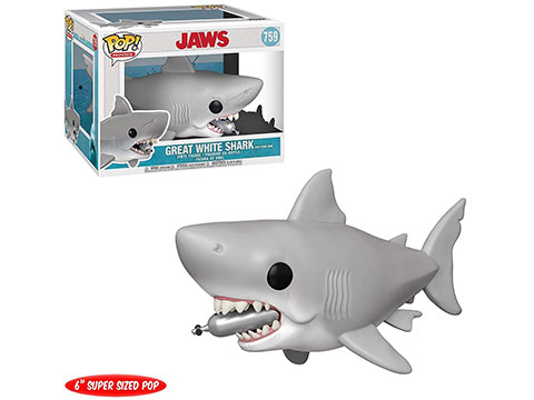 Funko POP! Movies: Jaws Great White Shark w/ Diving Tank