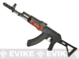 LCT Airsoft G-03 NV Full Metal Airsoft AEG with Real Wood Furniture and Side Folding Stock