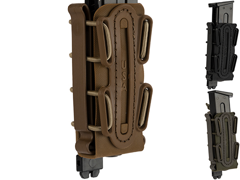 G-Code Soft Shell Scorpion Tall Pistol Magazine Carrier with P1 Molle Clip