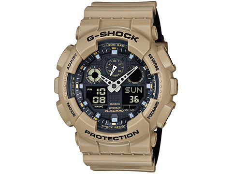 Casio G-Shock Trending Series GA100L-8A Digital Watch - Sand Beige
