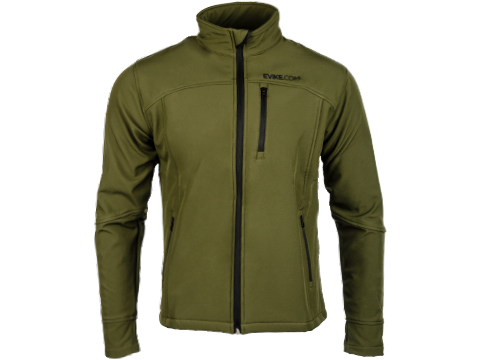 Evike Spectre Water-Resistant Softshell Jacket (Color: Tan / Medium)