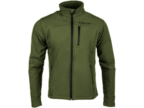 Evike Spectre Water-Resistant Softshell Jacket (Color: OD Green / Medium)