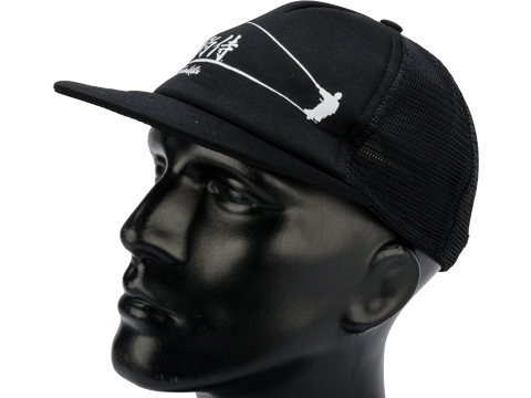 Gamakatsu Samurai Trucker Hat (Color: Black)
