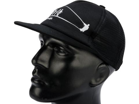 Gamakatsu Samurai Trucker Hat (Color: Black)