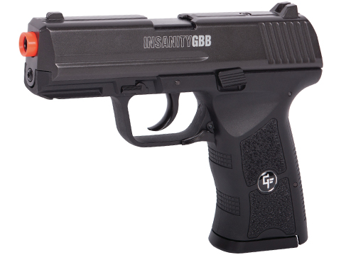 Game Face Insanity CO2 Powered Gas Blow Back Pistol
