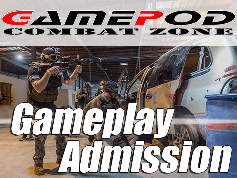 Gamepod Combat Zone Field Admission Pass