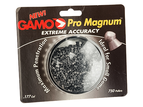 Gamo Pro Magnum Extreme Accuracy .177 Caliber Pellets - Package of 750