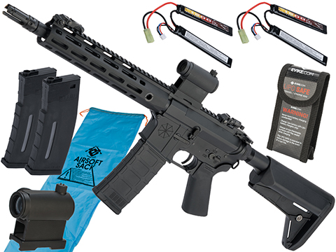 Go Airsoft Package Helios Umbrella Corporation Weapons Research Group Licensed M4 M-LOK Airsoft AEG Rifle