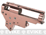 Aim Top Custom Reinforced 8mm M4/M16 Gearbox with 8mm Bearings (Color: Rose Gold)