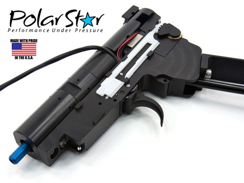 PolarStar Airsoft V3 Gen3 AK Fusion Engine Electro-Pneumatic Gearbox Kit (Model: Blue Nozzle)