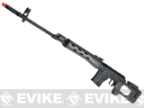 AIM Gas Blowback Russia Classic AK SVD Airsoft GBB Sniper Rifle - OD Green (580 FPS!)
