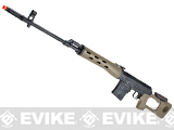 AIM Gas Blowback Russian Classic AK SVD Airsoft GBB Sniper Rifle - Desert Tan