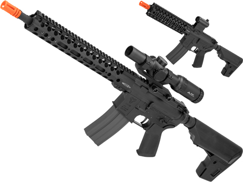 GBLS DAS Dynamic Action System GDR15 Blowback Airsoft AEG Training Rifle