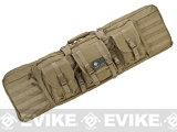 Combat Featured 42 Ultimate Dual Weapon Case Rifle Bag (Color: Desert)